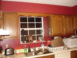 Kitchen Colors In Red