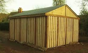 pallet shed how i built it free or cheap shed from recycled