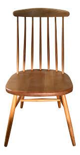 Mid Century Windsor Wood Chair