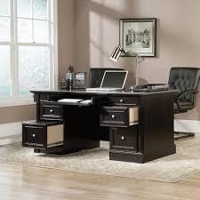 Staples Sauder Edgewater Executive Desk by 100 Sauder Edge Water Executive Desk Chalked Chestnut