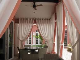 beautiful outdoor patio curtain from sunbrella front yard
