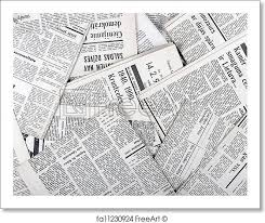 Free Art Print Of Background Old Vintage Newspapers