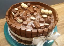 backen kochen genießen happy schoko vanille torte