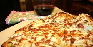 Homemade Brick Oven Pizza