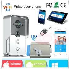 Door Locks Mobile Phone Free Shipping Wireless Video Door Phone