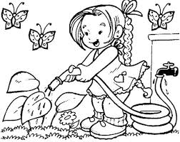 Pencil Drawing Picture For Kids Of Spring Season Sketch