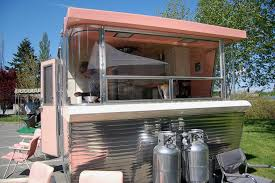 Jetsons Like Front End Design On 1961 Vintage Holiday House Travel Trailer