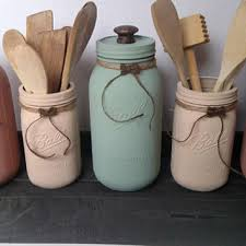 Large Mason Jar Canister Set