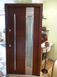 Exterior Entry Doors. Entry Door With Sidelights With Brick Wall ... Modern Front Doors Pristine Red Door As Surprising Best Modern Door Designs Interior Exterior Enchanting Design For Trendy House Front Design Latest House Entrance Main Doors Images Of Wooden Home Designs For Sale Reno 2017 Wooden Choice Image Ideas Wholhildprojectorg