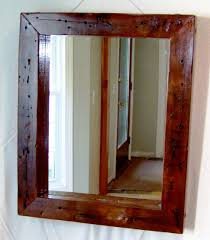Bathrooms Design : The Reclaimed Wood Mirror Bathroom Cabinets ... Barn Board Picture Frames Rustic Charcoal Mirrors Made With Reclaimed Wood Available To Order Size Rustic Wood Countertops Floor Innovative Distressed Western Shop Allen Roth Beveled Wall Mirror At Lowescom 38 Best Works Images On Pinterest Boards Diy Easy Framed Diystinctly Mirror Frame Youtube Bathrooms Design Frame Ideas Bathroom Bath Restoration Hdware Bulletin Driven By Decor