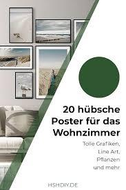 20 hübsche poster für das wohnzimmer home sweet home
