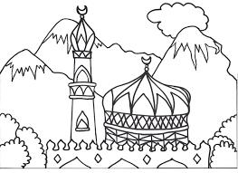 Inspiration Web Design Islamic Coloring Book
