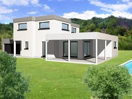 maison en cube moderne modèle photo maison moderne cube