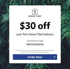 Home Chef New Year Deal - $30 Off First Box! | MSA