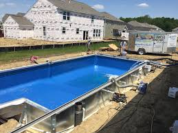 100 Water Truck To Fill Pool Building In June Brownsburg IN Trouble Free