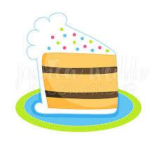 Slice of Birthday Cake Cute Digital Clipart Cake Clip art Birthday Graphics Birthday Cake Clipart Slice of Cake Illustration 146