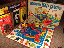 Vintage 1973 Mouse Trap Board Game From Ideal Games Family Favorite Night