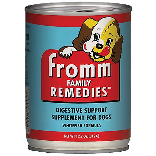 Fromm Family Remedies Digestive Support Whitefish Formula Supplement for Dogs