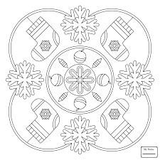 Coloring Pages For Kids Mandala Arts Culture Celtic Ornament Design