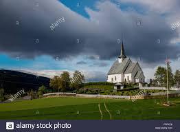 100 Ulnes Kirke Oppland Norway Stock Photo 220545368 Alamy