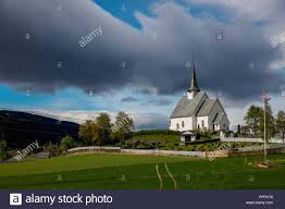 100 Ulnes Kirke Oppland Norway Stock Photo 220545368