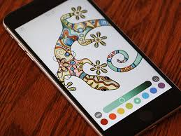 The App Features Eight Coloring Tools And Supports Apple Pencil Third Party Styluses