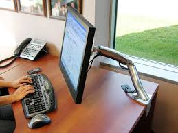 Ergotron Sit Stand Desk Manual by Ergotron Monitorarm Mx Series Desk Mount Lcd Arm 45 214 026 Kopen