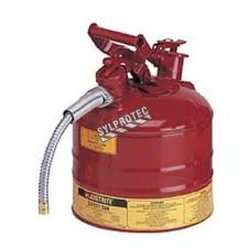 Grounding Of Flammable Cabinet Justrite by Steel Type 2 Flammable Liquids Container Of 2 5 Gallons By Justrite