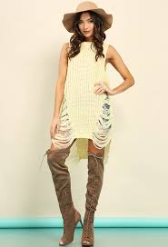 distressed ribbed sweater dress shop new and now at papaya clothing