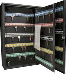 Hyloft Ceiling Storage Unit 30 Cubic Feet by 200 Key Storage Cabinet Safe Lock Box Security Wall Mount Holder