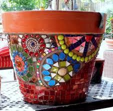 Smart Tile Maya Mosaik by Mosaic Pot By Courtney 2014 For My Meyer Lemon Tree Side 3