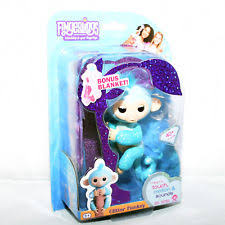 Item 1 New Genuine Fingerlings Blue Glitter Baby Monkey By WowWee Name Amelia