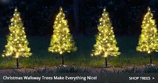 Outdoor Decorations Lighting Luxury Small Xmas Tree With Lights Or Walkway Trees 54 Miniature