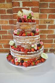 This Naked Wedding Cake Was Created For One Of Our Lucky Win A