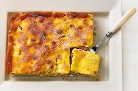 rhabarberkuchen mit vanille quark guss