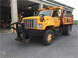100 Top Kick Truck 1993 GMC Kick Dump With Flink Stainless Steel Cinder