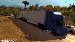 Tesla Semi Truck With Trailer 2019 - (ETS2 1.31.x) Mod For ETS 2 Euro Space Truck Simulator 2 Spacngineers American Tesla Semi Updated Mud Flaps Of Semitrailers For Screenshot Lowest Graphics Setting Flickr Game Euro Truck Simulator Tractor Semi Rigs Rig Wallpaper Kenworth W900 Skin Ats Mods Chrome Plated Wheel Rims Of Trailers For Fliegl Trailer Axis And 3 Mod Mod Buy Ets2 Or Dlc Minutes To Hack Europe Unlimited Trycheat Unveil A 200 300miles Range Electric Usa Android Ios Youtube