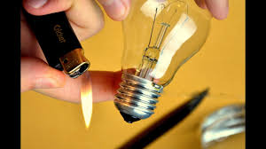 easy how to cut open a light bulb without breaking it