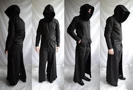 gunslinger longcoat full length mens trenchcoat mask large