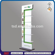 TSD M137 Custom High Quality Pos Metal Hair Salon Products Display Racksalon