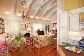 Den Lighting Ideas Living Room Traditional With Window Sheers Kitchen Table Vaulted Ceilings