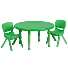 33'' Round Adjustable Green Plastic Activity Table Set With 2 School ... Flash Fniture 315inch Round Alinum Indoor Outdoor Table With 315 Square Red Metal Inoutdoor Set 4 Stack Chairs Duet Tables Global Group Lifetime 9piece Black Stackable Folding Set80439 The Home Cafe Restaurant Seat Stock Image Of Ding Kitchen Ikea Traing And Mktrcc7224pl44be Foldingchairs4lesscom T42rdb1922slmh2300p03 Bizchaircom Amazoncom Kee 42 Breakroom Mahogany M Rattan 3 Classic Teak Garden Eight Oval Stacks Store
