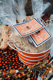 Rice Krispie Halloween Treats Candy Corn by Halloween Rice Krispie Treats Bones Clean And Scentsible