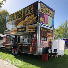 100 Concession Truck Food Wraps Trailer Wraps Sell More Product