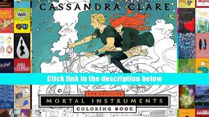 Download PDF The Official Mortal Instruments Coloring Book Cassandra