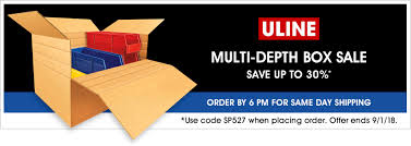 Uline: 2018 MultiDepth Box Sale 50 Off Prting Coupon Code From Guilderland Buy Fengshui Com Coupon Code Dominos Pizza Menu Prices Jamaica Rowe Pottery Ftf Board And Brush Green Bay Del Air Orlando Coupons Usps Shipping New Balance Kohls Uline Shipping Bags Elsa Speak Promo Choose Fitness Noip Amazon Free Delivery Loft Online Codes 2019 Acanya Manufacturer Gift Nba Store Svs Vision Times Deals Ghaziabad Chicago Bears Discount Ldon