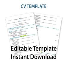 CV Template Schofield Strategies