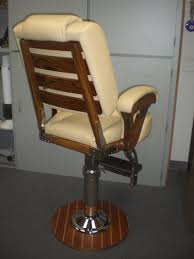 Swivel Captains Chair Boat by Sea Furniture Sea Marine Hardware Helm Chairs