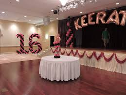 Quinceanera Decorations For Hall by Quinceanera Sweet 16 Balloons At It U0027s My Party