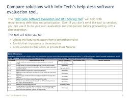 Service Desk Software Requirements by Practical It Research That Drives Measurable Results Vendor